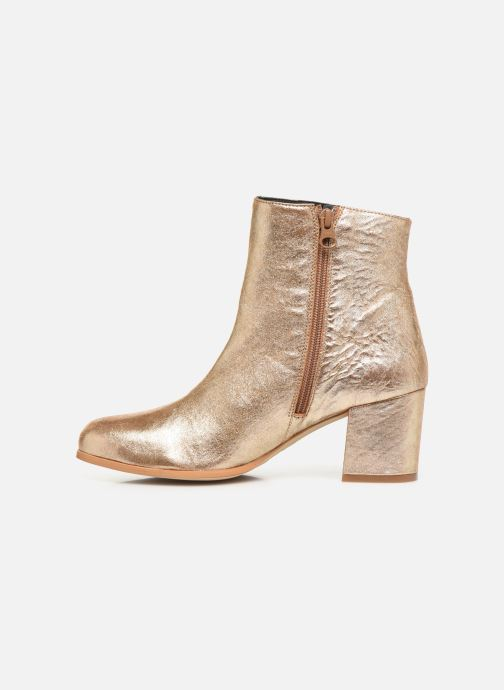 Bottines et boots Craie AVENIR Or et bronze vue face