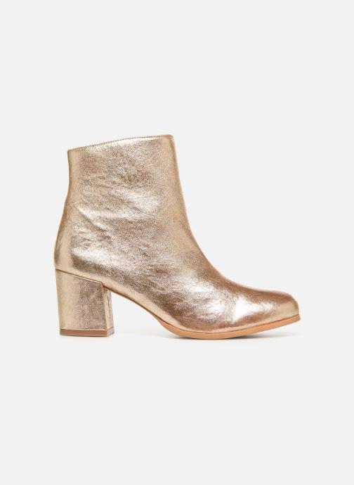 Bottines et boots Craie AVENIR Or et bronze vue derrière