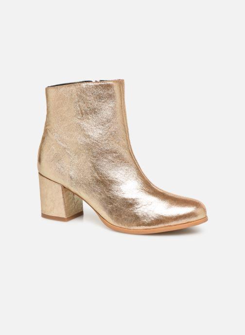 Bottines et boots Craie AVENIR Or et bronze vue détail/paire