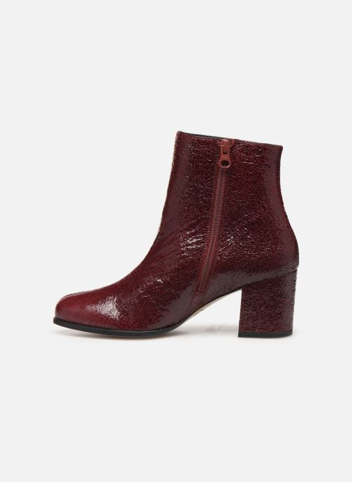 Bottines et boots Craie AVENIR Bordeaux vue face