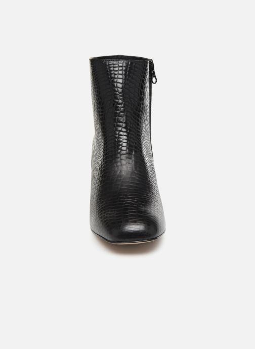 Bottines et boots Craie APRIL Noir vue portées chaussures
