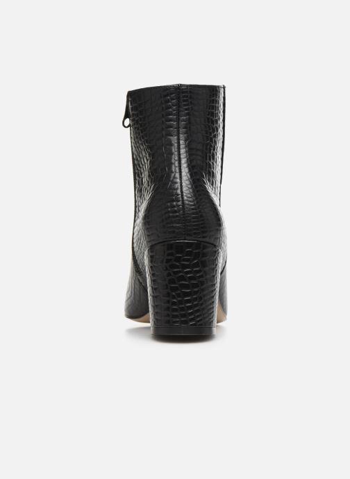 Bottines et boots Craie APRIL Noir vue droite