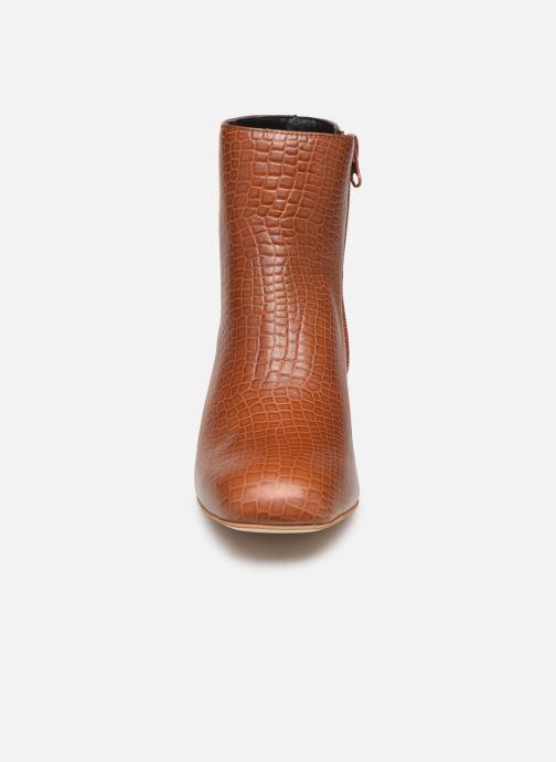 Stiefeletten & Boots Craie APRIL braun schuhe getragen