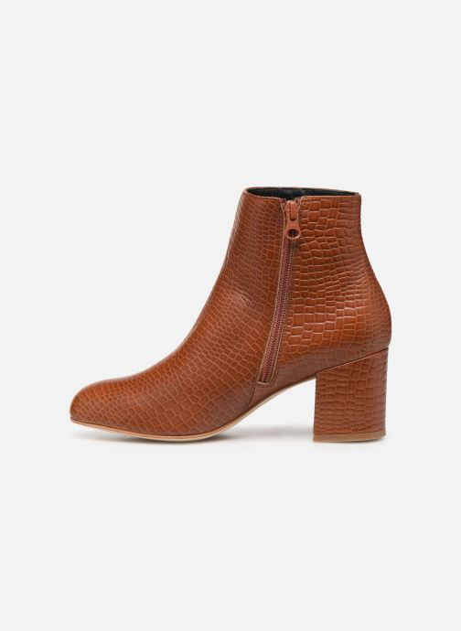 Bottines et boots Craie APRIL Marron vue face
