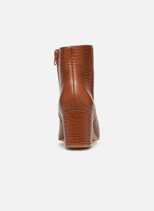 Bottines et boots Craie APRIL Marron vue droite