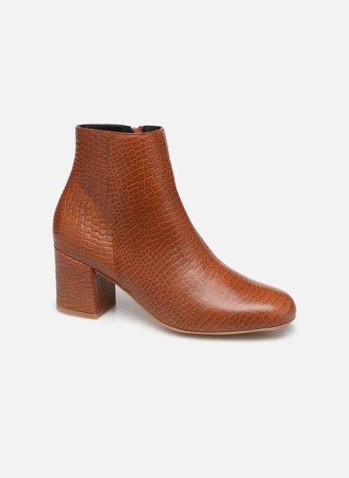 Bottines et boots Craie APRIL Marron vue détail/paire