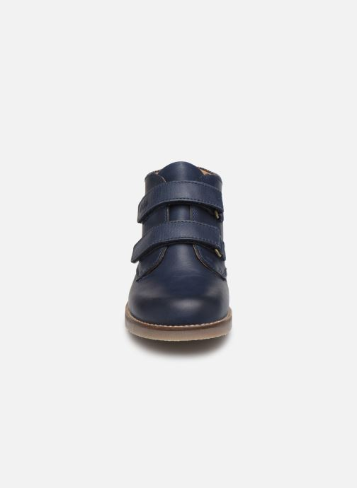 Bottines et boots Aster Sastien Bleu vue portées chaussures