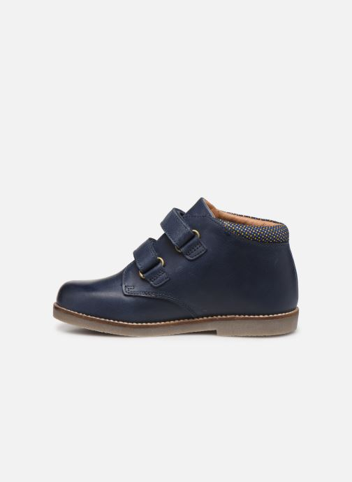 Bottines et boots Aster Sastien Bleu vue face