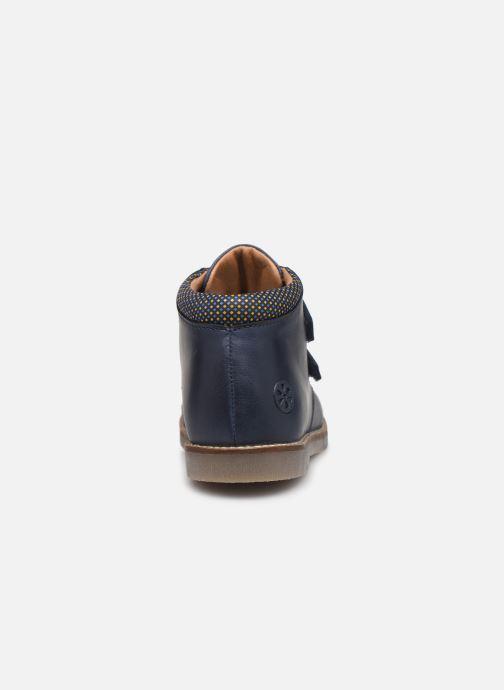 Bottines et boots Aster Sastien Bleu vue droite