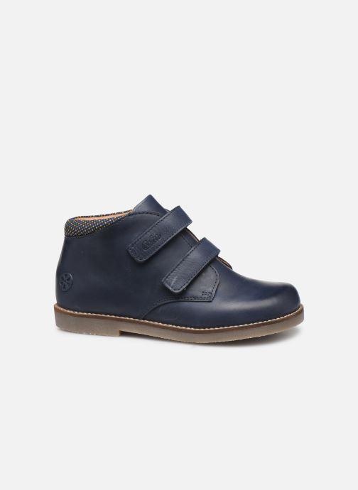 Bottines et boots Aster Sastien Bleu vue derrière