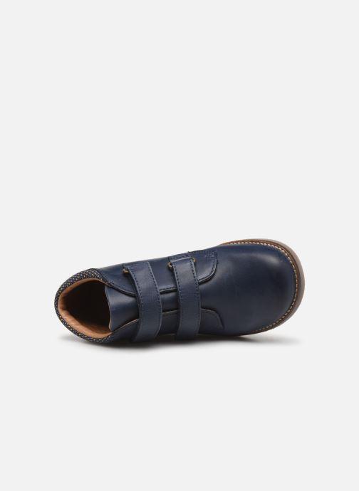 Bottines et boots Aster Sastien Bleu vue gauche