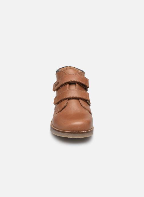 Bottines et boots Aster Sastien Marron vue portées chaussures