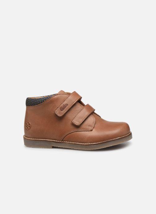 Bottines et boots Aster Sastien Marron vue derrière
