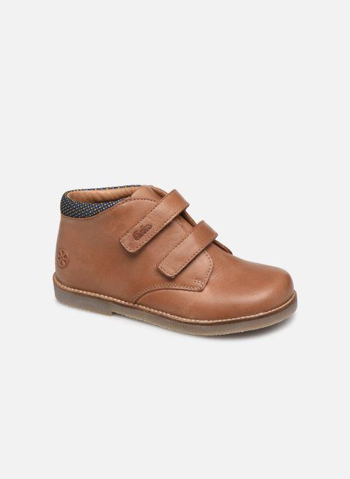 Boots en enkellaarsjes Aster Sastien Bruin detail
