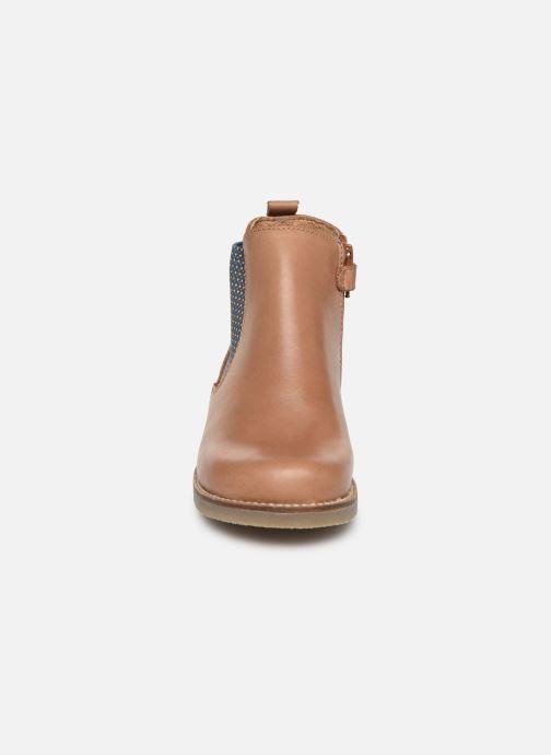 Bottines et boots Aster Stic Marron vue portées chaussures