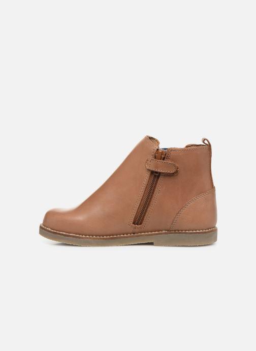 Stiefeletten & Boots Aster Stic braun ansicht von vorne