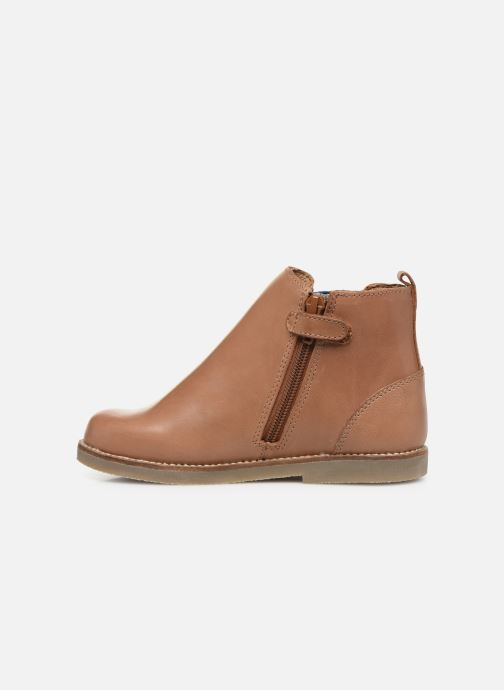 Bottines et boots Aster Stic Marron vue face