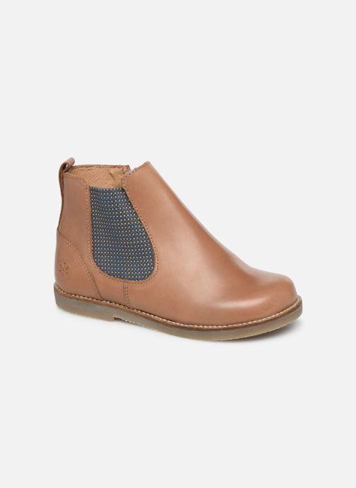 Bottines et boots Aster Stic Marron vue détail/paire