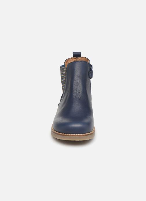 Bottines et boots Aster Stic Bleu vue portées chaussures