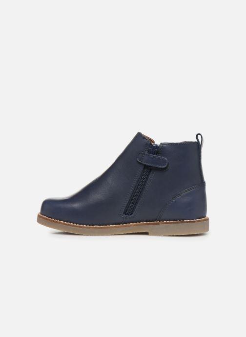 Bottines et boots Aster Stic Bleu vue face