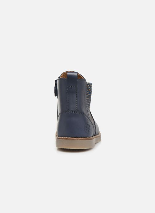 Ankle boots Aster Stic Blue view from the right