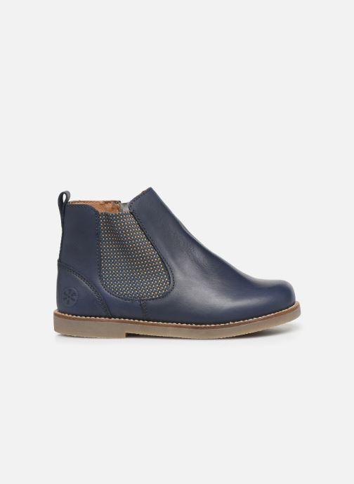Bottines et boots Aster Stic Bleu vue derrière