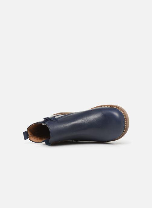 Bottines et boots Aster Stic Bleu vue gauche