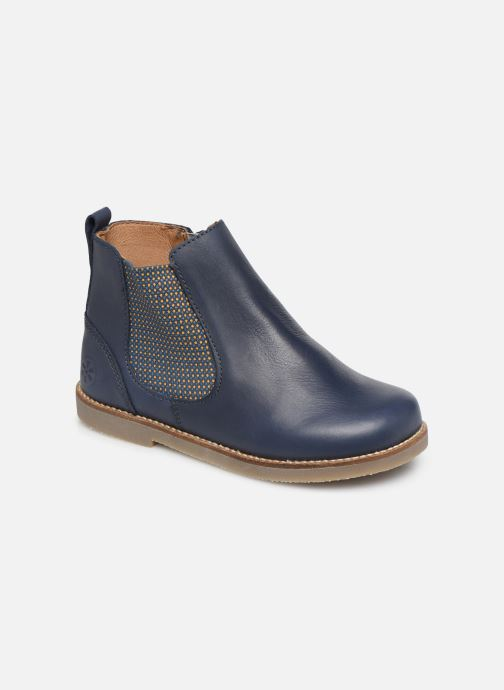 Bottines et boots Aster Stic Bleu vue détail/paire