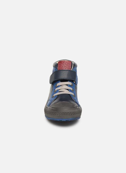 Baskets Aster Omar Bleu vue portées chaussures