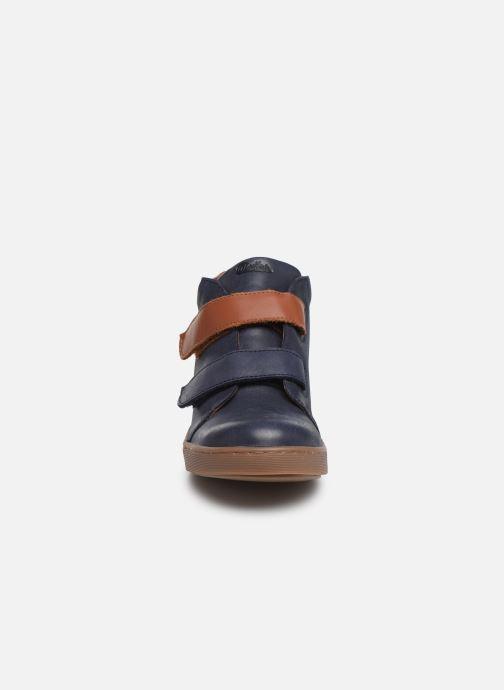 Baskets Aster Sijac Bleu vue portées chaussures