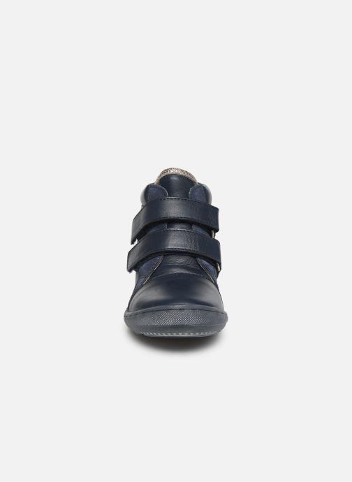 Bottines et boots Aster Fanko Bleu vue portées chaussures