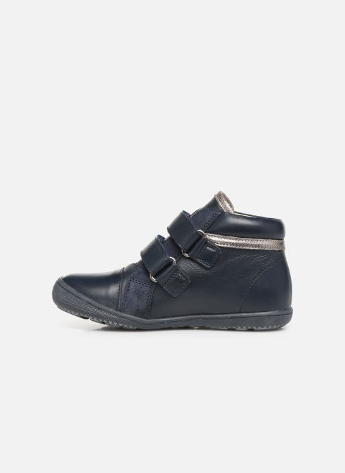 Bottines et boots Aster Fanko Bleu vue face