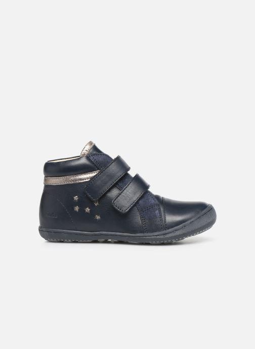 Bottines et boots Aster Fanko Bleu vue derrière