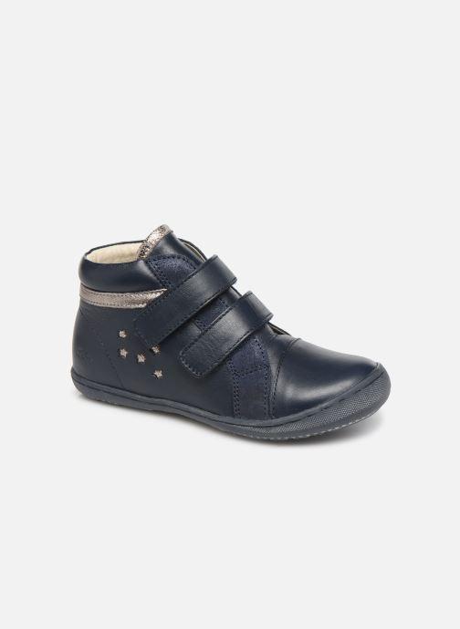 Bottines et boots Aster Fanko Bleu vue détail/paire