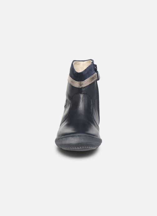 Bottes Aster Fastid Bleu vue portées chaussures