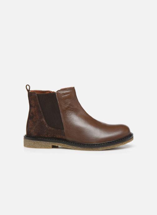 Bottines et boots Aster Waxou Marron vue derrière
