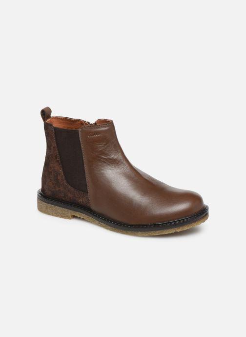 Bottines et boots Aster Waxou Marron vue détail/paire