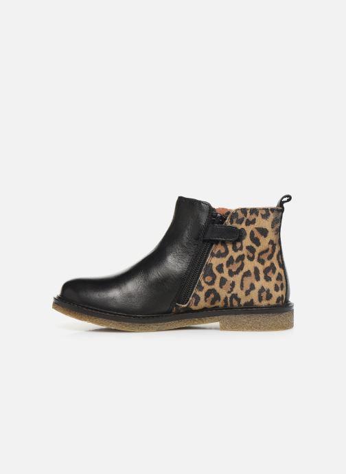 Bottines et boots Aster Waxou Noir vue face