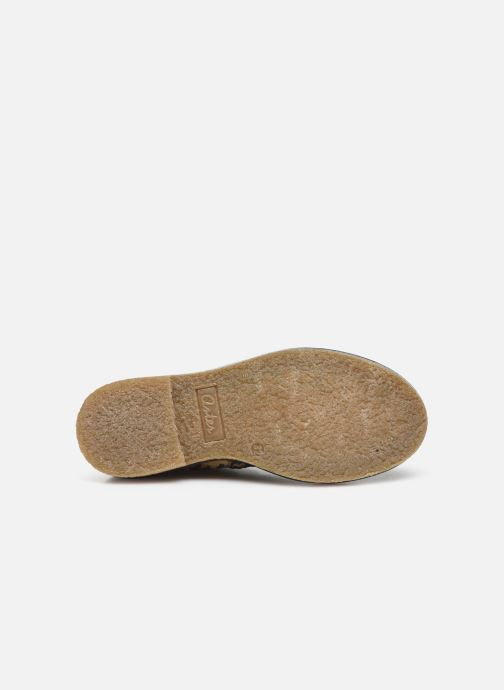 Bottines et boots Aster Waxou Noir vue haut