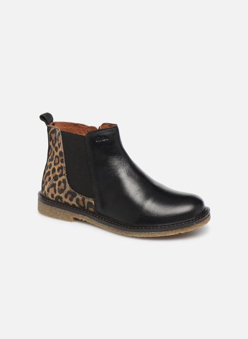 Boots en enkellaarsjes Aster Waxou Zwart detail