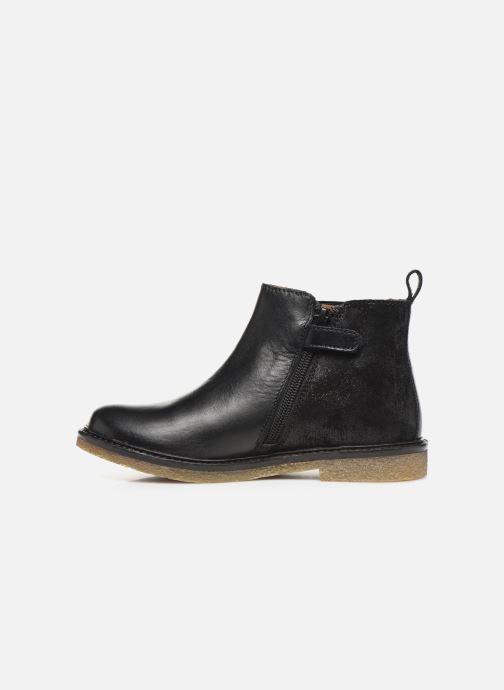 Boots en enkellaarsjes Aster Waxou Zwart voorkant