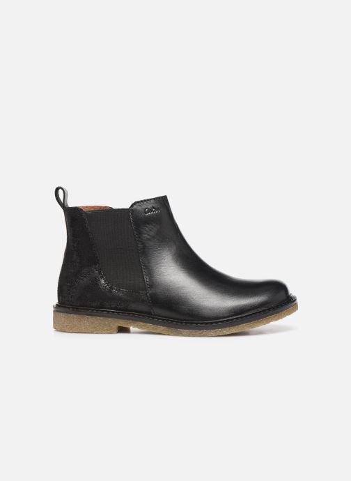 Bottines et boots Aster Waxou Noir vue derrière