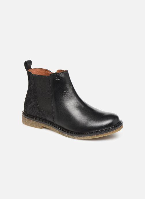Bottines et boots Aster Waxou Noir vue détail/paire