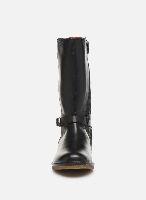 Bottes Aster Wall Noir vue portées chaussures