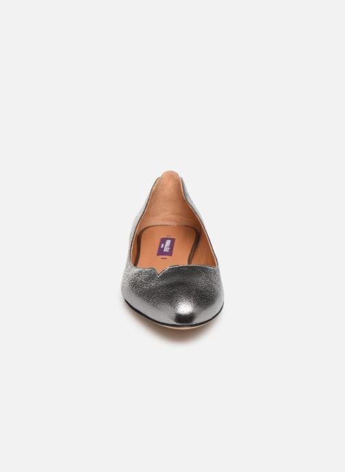 Ballerines Parallèle Bamba C Argent vue portées chaussures