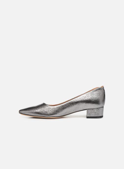 Zapatos de tacón Parallèle Hiva C Plateado vista de frente