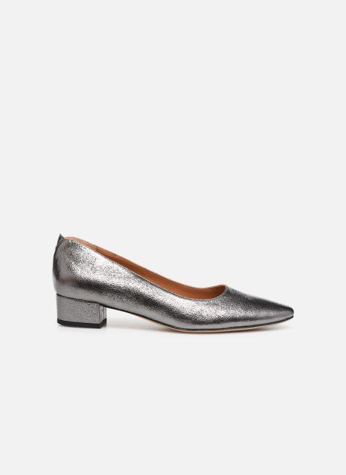 Zapatos de tacón Parallèle Hiva C Plateado vistra trasera