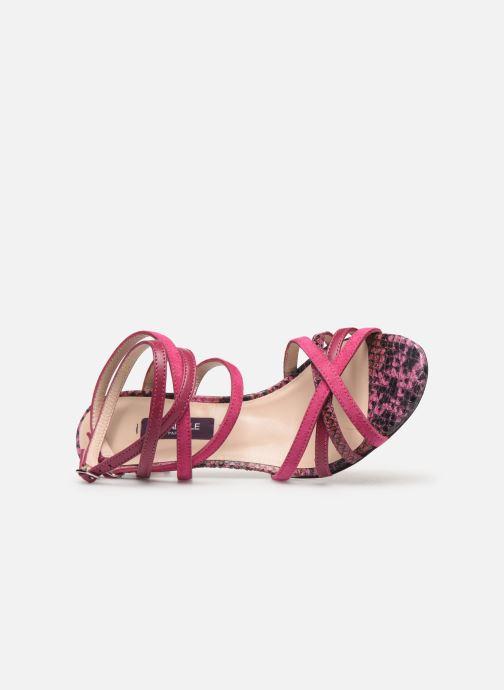 Sandalen Parallèle Inaga C rosa ansicht von links