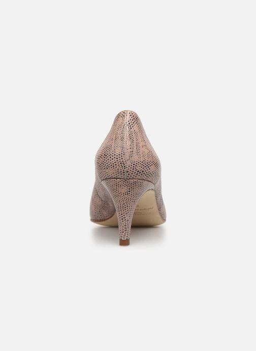 Zapatos de tacón Parallèle Nafta C Beige vista lateral derecha