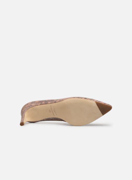 Zapatos de tacón Parallèle Nafta C Beige vista de arriba